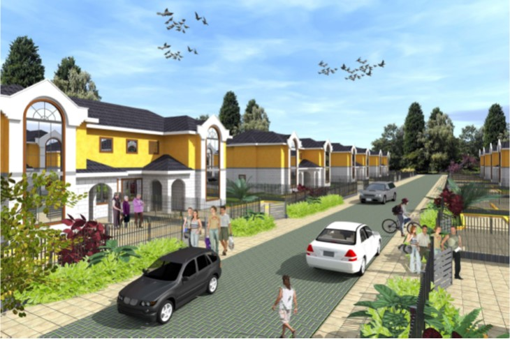 Kenya Pipeline-RBS Housing Estate, Kitengela.