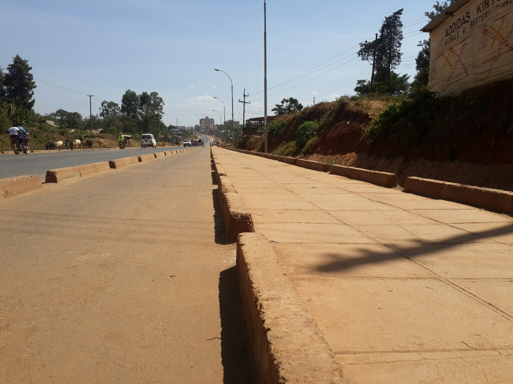 Non-Motorized Traffic facilities, Kakamega.